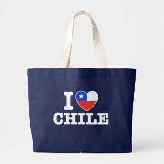 I Love Chile Jumbo Tote Bag