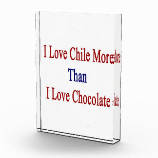 I Love Chile More Than I Love Chocolate Awards