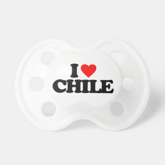 I LOVE CHILE PACIFIER