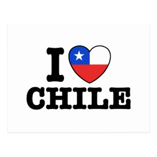 I Love Chile Post Card