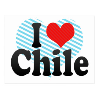 I Love Chile Postcard