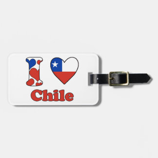 I love Chile Tag For Luggage