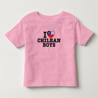 I Love Chilean Boys Toddler T-shirt