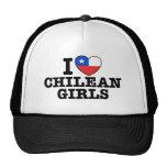 I Love Chilean Girls Mesh Hats