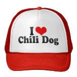 I Love Chili Dog Trucker Hat