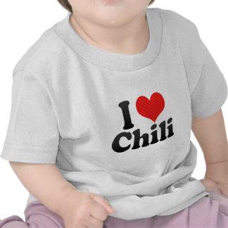 I Love Chili T-shirts