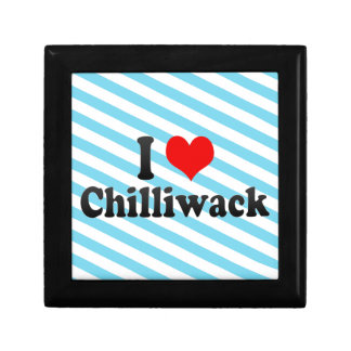 I Love Chilliwack Canada Jewelry Box