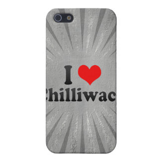 I Love Chilliwack Canada Case For iPhone 5