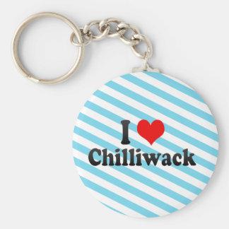I Love Chilliwack Canada Key Chain