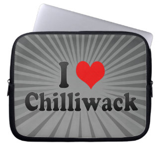I Love Chilliwack Canada Laptop Computer Sleeves