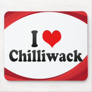 I Love Chilliwack Canada Mouse Pads