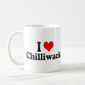I Love Chilliwack Canada Mugs