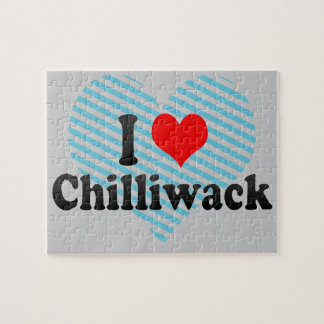 I Love Chilliwack Canada Jigsaw Puzzles