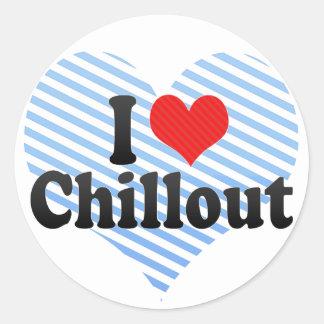 I Love Chillout Sticker