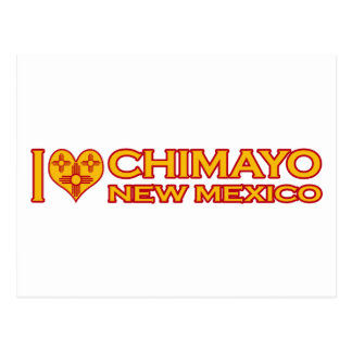 I Love Chimayo, NM Postcard