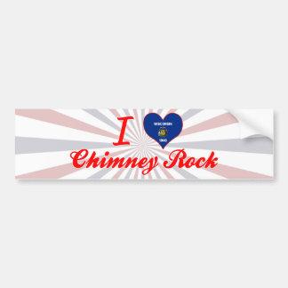 I Love Chimney Rock, Wisconsin Bumper Stickers