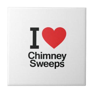 I Love Chimney Sweeps Tile