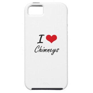 I love Chimneys Artistic Design iPhone 5 Cases