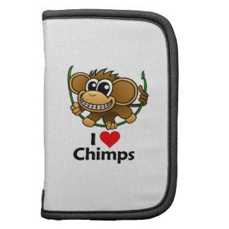 I Love Chimps Planner
