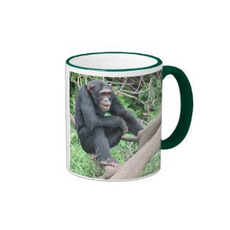 I love chimps ringer mug