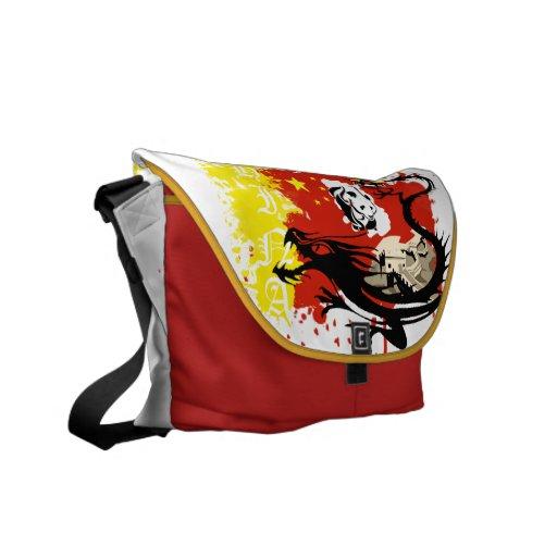 I LOVE CHINA MESSENGER BAG
