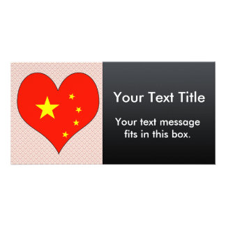 I Love China Picture Card