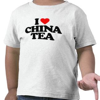 I LOVE CHINA TEA TSHIRT