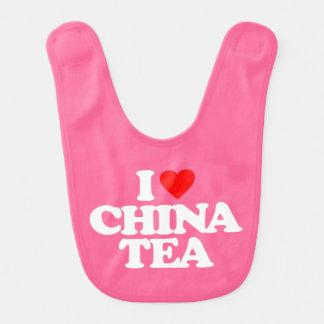 I LOVE CHINA TEA BIB