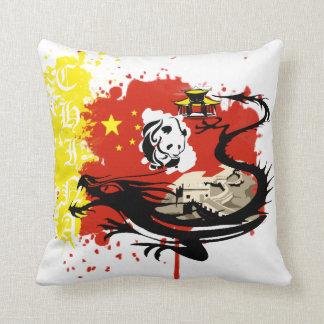 I LOVE CHINA THROW PILLOW
