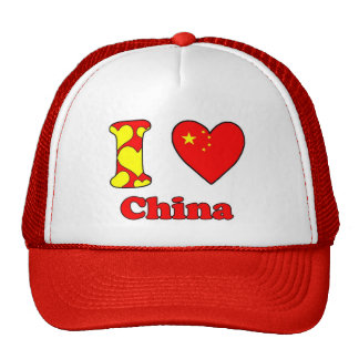 I love China Trucker Hat