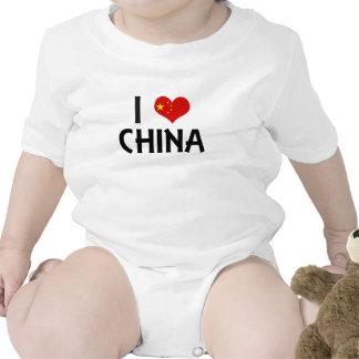I Love China T Shirts
