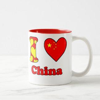 I love China Two-Tone Coffee Mug