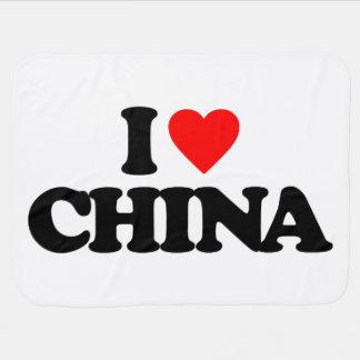 I LOVE CHINA SWADDLE BLANKETS