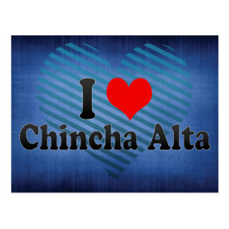 I Love Chincha Alta, Peru Postcard