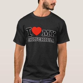 I Love chinchilla T-Shirt