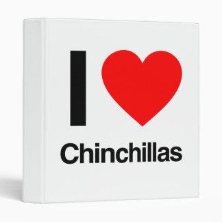 i love chinchillas binders