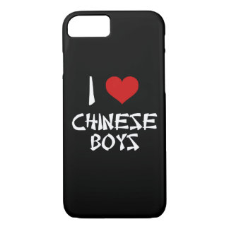 I Love Chinese Boys iPhone 7 Case