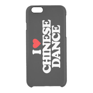 I LOVE CHINESE DANCE CLEAR iPhone 6/6S CASE