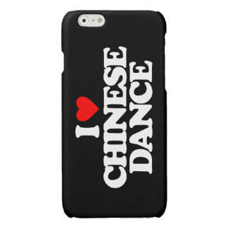 I LOVE CHINESE DANCE GLOSSY iPhone 6 CASE