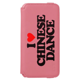I LOVE CHINESE DANCE iPhone 6/6S WALLET CASE