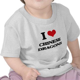 I love Chinese dragons T-shirts
