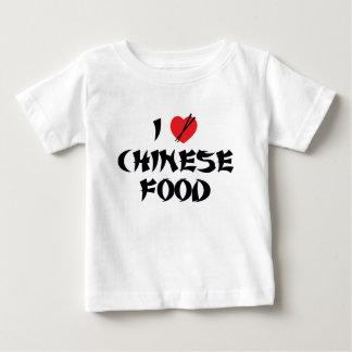 I Love Chinese Food Baby T-Shirt