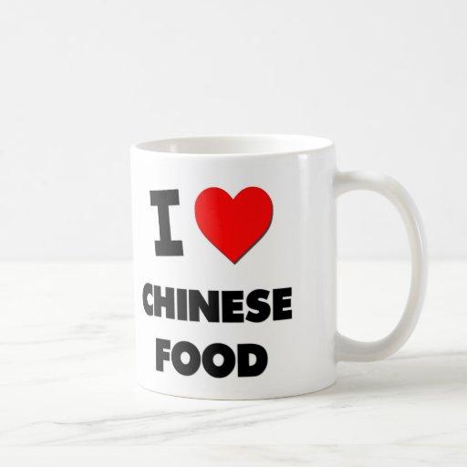 I Love Chinese ( Food ) ( Food ) Coffee Mugs