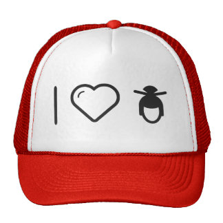 I Love Chinese Hairdos Trucker Hat