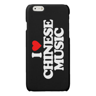 I LOVE CHINESE MUSIC GLOSSY iPhone 6 CASE