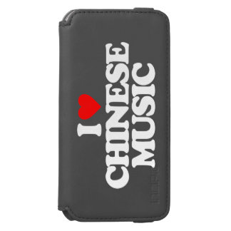 I LOVE CHINESE MUSIC iPhone 6/6S WALLET CASE