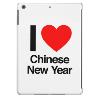 i love chinese new year iPad air cases