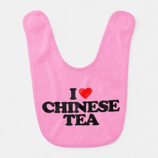 I LOVE CHINESE TEA BIB
