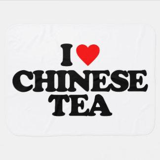 I LOVE CHINESE TEA SWADDLE BLANKET