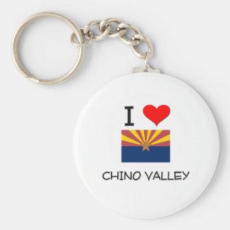 I Love CHINO VALLEY Arizona Keychain